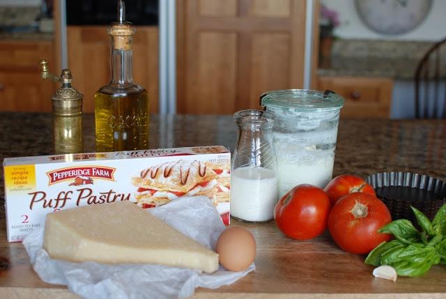 2 3 - Tomato Ricotta Tarts