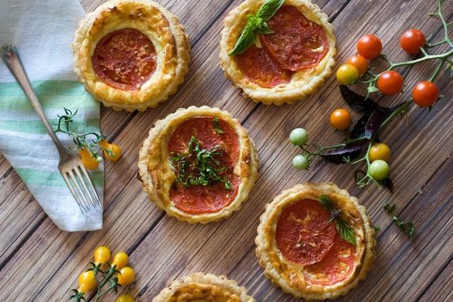 27 1 - Tomato Ricotta Tarts
