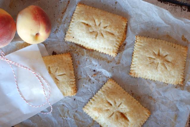 30 2 - Hand Peach Pies