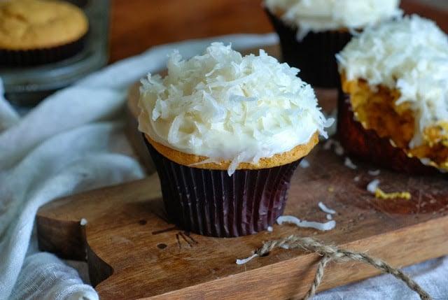 1 8 - Pumpkin Coconut Cupcakes