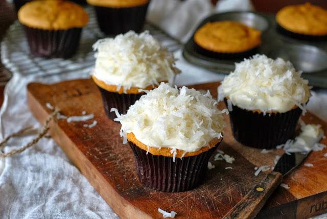 32 2 - Pumpkin Coconut Cupcakes