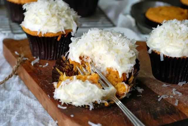 33 5 - Pumpkin Coconut Cupcakes