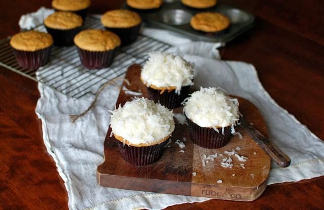 34 4 - Pumpkin Coconut Cupcakes
