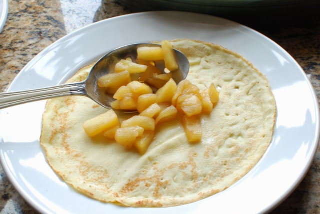27 2 - Apple Crepes with Caramel Sauce