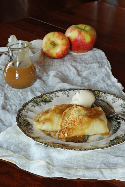 38 1 - Apple Crepes with Caramel Sauce