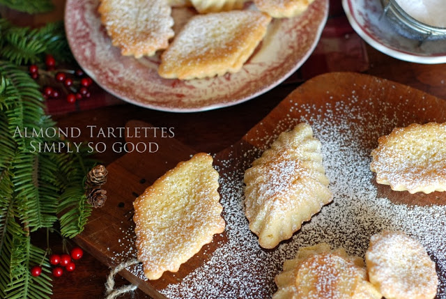 Christmas Cookie Exchange:  Almond Tartlets