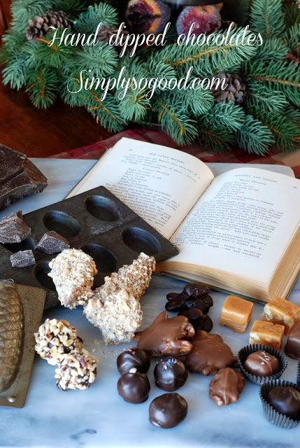 0a - Caramels, Hand Dipped Chocolates and Chocolates Giveaway
