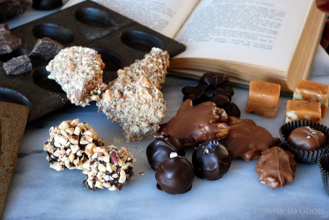 2 1 - Caramels, Hand Dipped Chocolates and Chocolates Giveaway