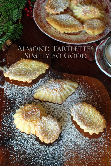 2 - Christmas Cookie Exchange:  Almond Tartlettes