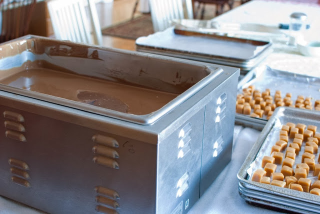 25 1 - Caramels, Hand Dipped Chocolates and Chocolates Giveaway