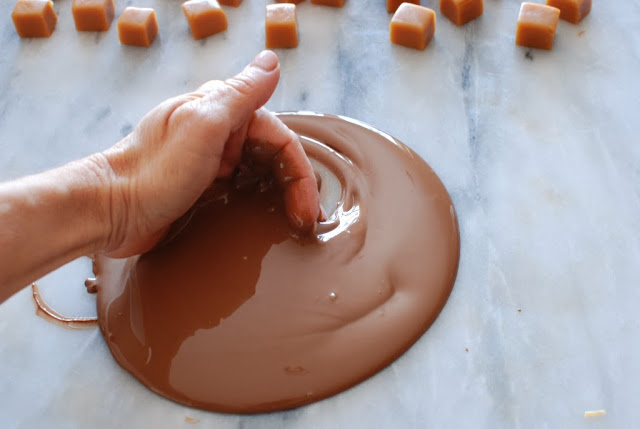 28 1 - Caramels, Hand Dipped Chocolates and Chocolates Giveaway