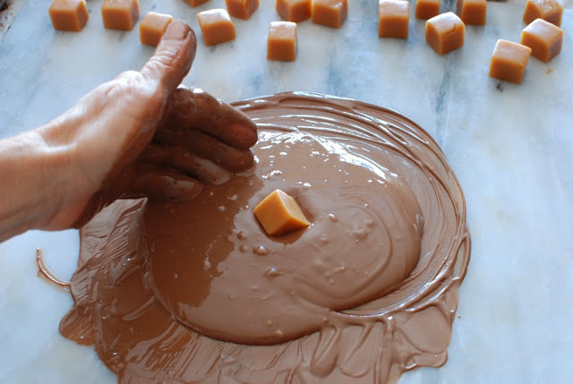 30 1 - Caramels, Hand Dipped Chocolates and Chocolates Giveaway