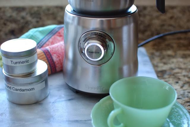 15 3 - Spiced Almond Milk Steamer
