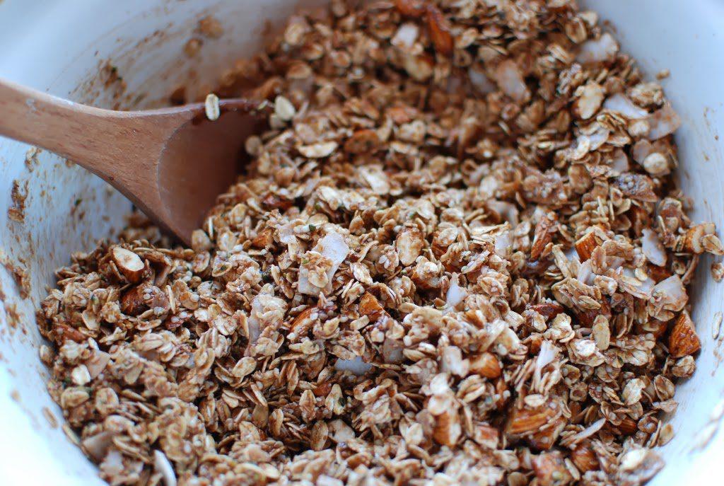 21 1024x687 - Chocolate Coconut Almond Granola