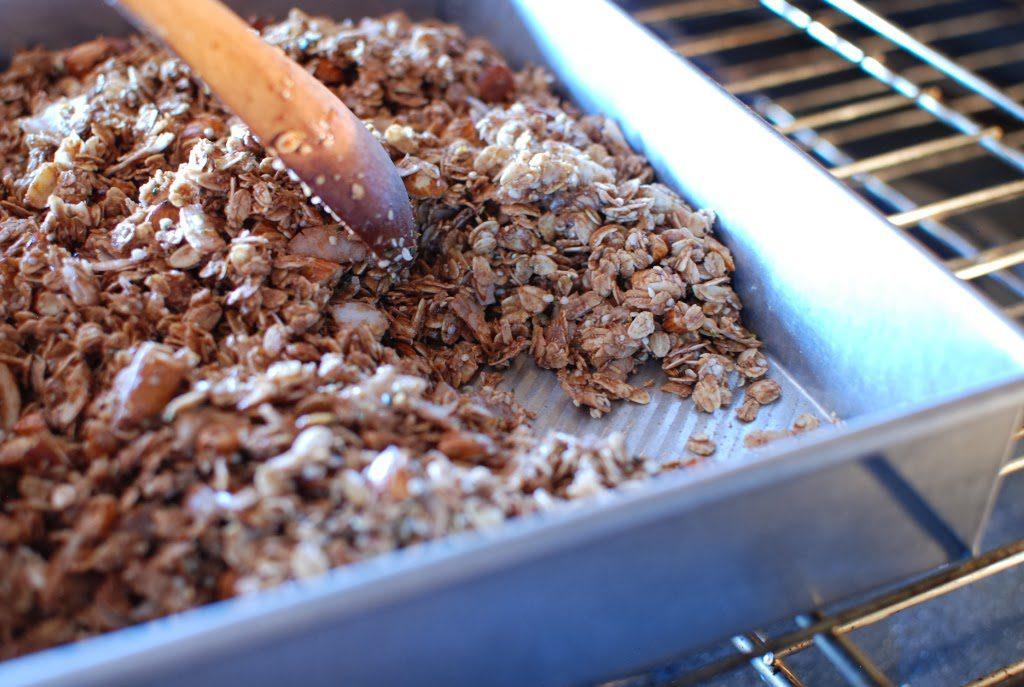 25 1024x687 - Chocolate Coconut Almond Granola