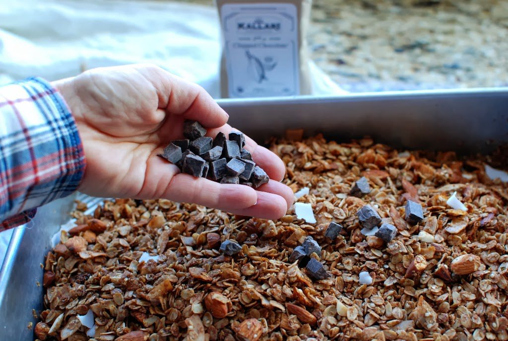 27 1024x687 - Chocolate Coconut Almond Granola