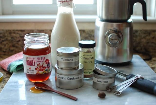 5 4 - Spiced Almond Milk Steamer
