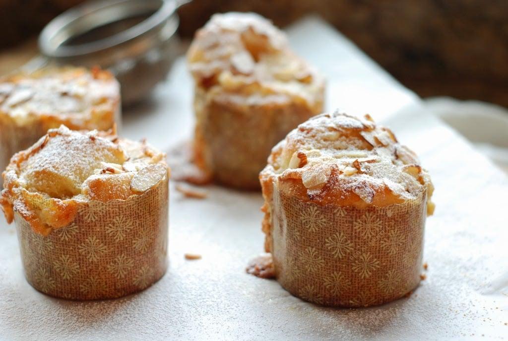 baked brioche buns on parchment