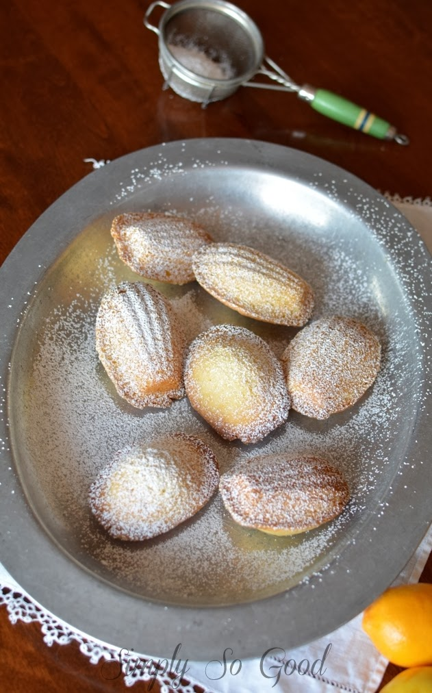 25 2 - Meyer Lemon Madeleines