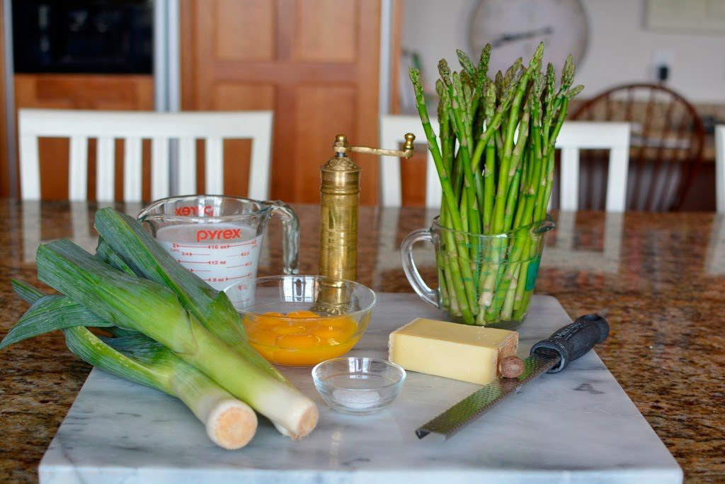 26 1 1024x683 - Spring Leek and Asparagus Quiche