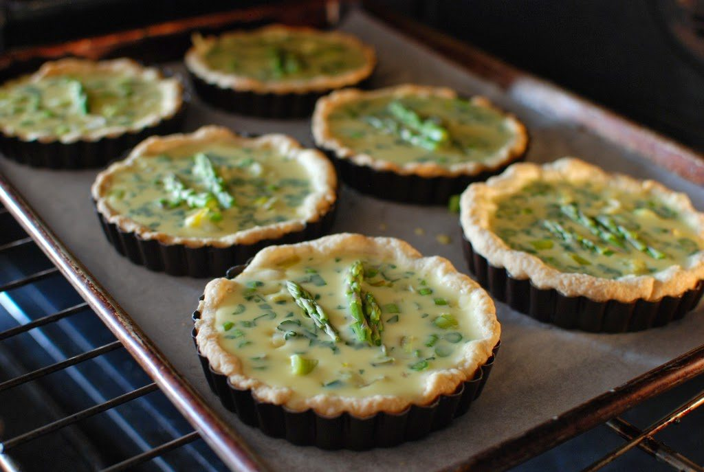 52 1 1024x687 - Spring Leek and Asparagus Quiche