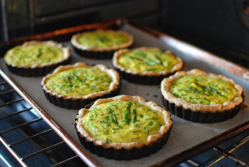 53 1024x687 - Spring Leek and Asparagus Quiche