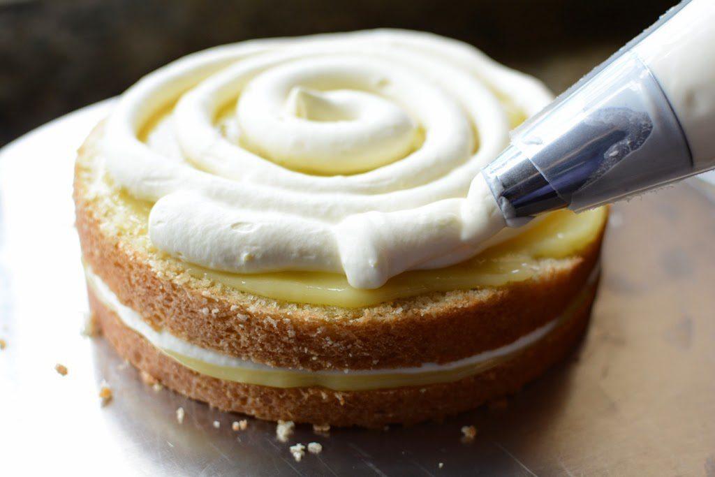 31 1 1024x683 - Lemon Olive Oil Cake with Mascarpone and Lemon Curd