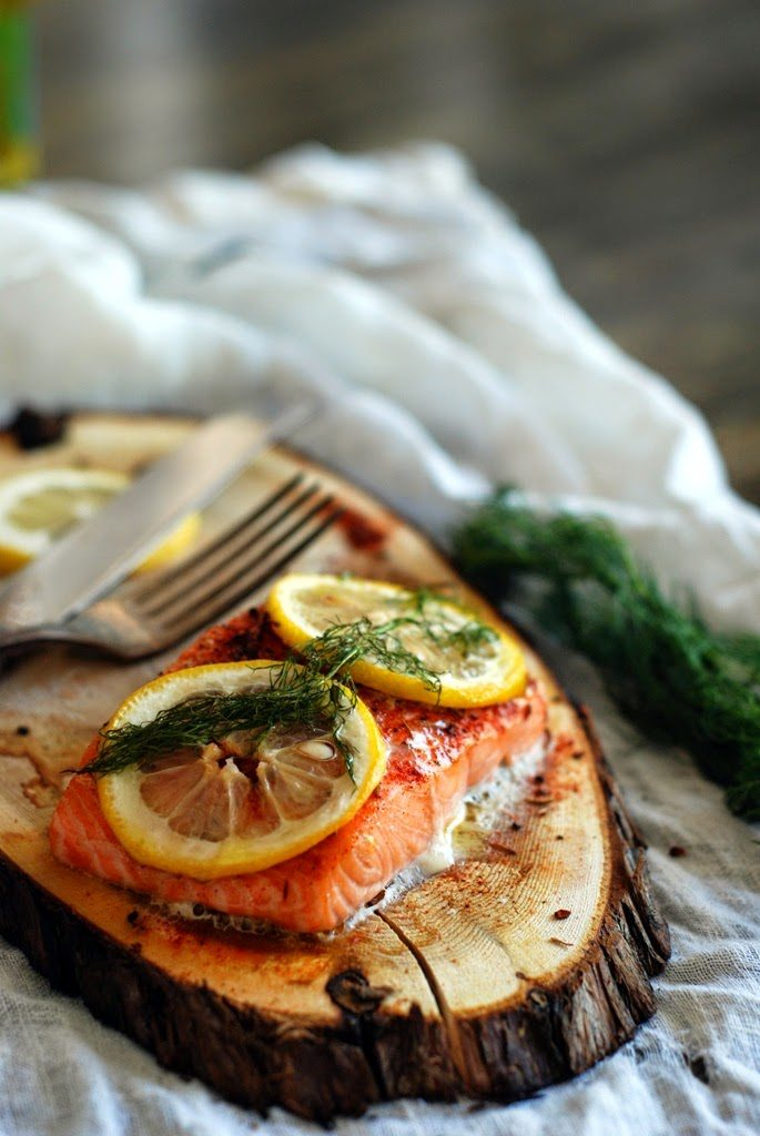 24 2 685x1024 - Cedar Plank Salmon with Lemon and Dill