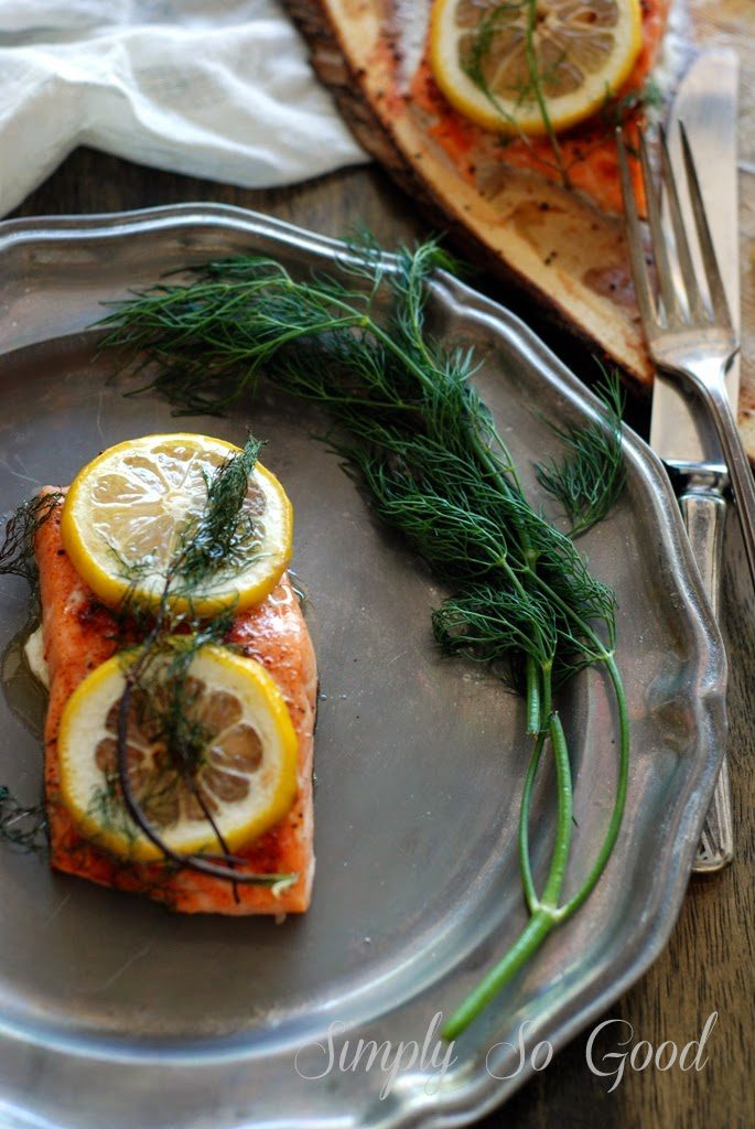 31 685x1024 - Cedar Plank Salmon with Lemon and Dill
