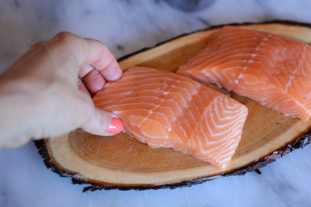 8 1 1024x683 - Cedar Plank Salmon with Lemon and Dill