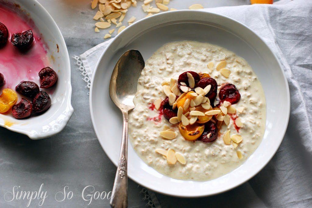 Bircher Muesli with Bruleed Cherries 035 1024x685 - Bircher Muesli with Bruleed Cherries
