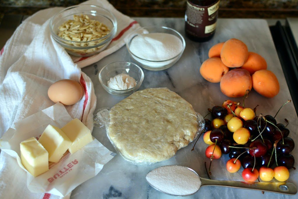 DSC 0004 1024x683 - How to Make a Fruit Galette with one recipe