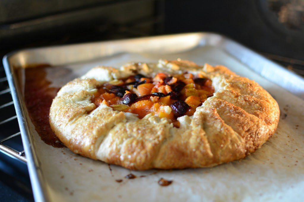 DSC 0073 1024x683 - How to Make a Fruit Galette with one recipe