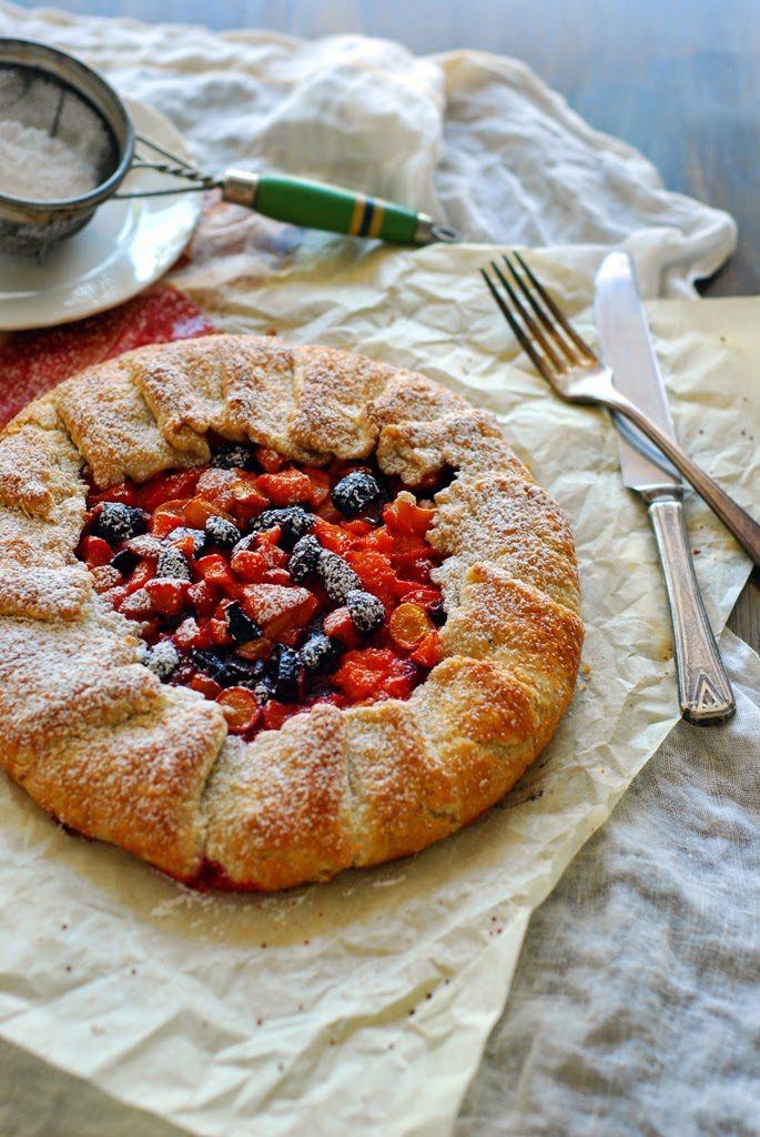 a 685x1024 - How to Make a Fruit Galette with one recipe