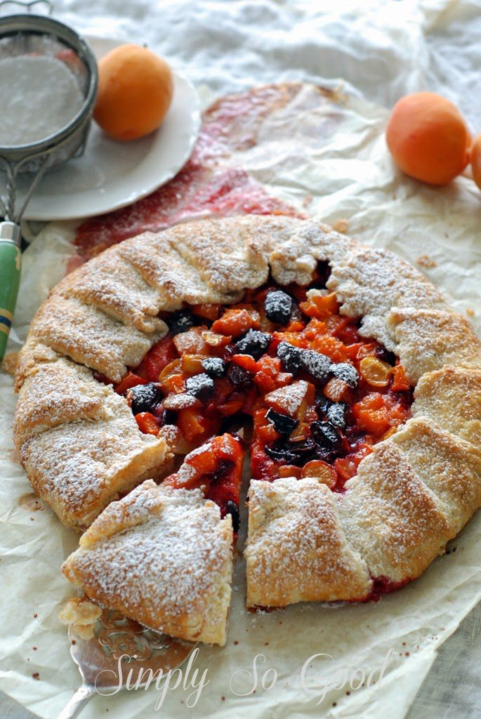 r 685x1024 - How to Make a Fruit Galette with one recipe