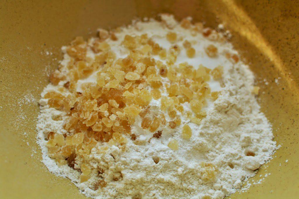 10b 1 1024x683 - Peach Ginger Muffins