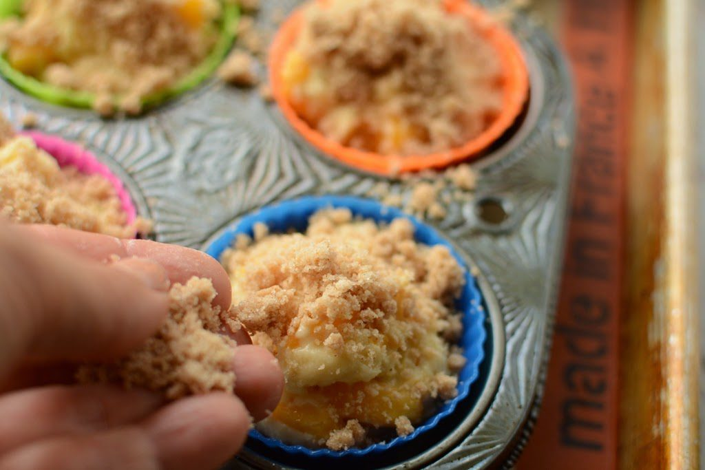 26 1 1024x683 - Peach Ginger Muffins