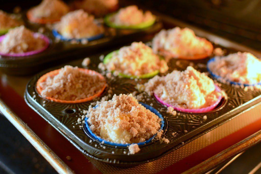 27 1 1024x683 - Peach Ginger Muffins