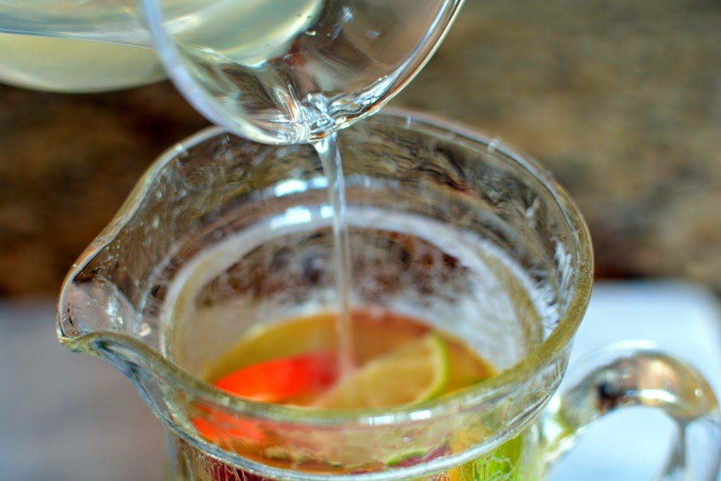27 3 1024x683 - Fresh Peach Sangria Mocktail My Way