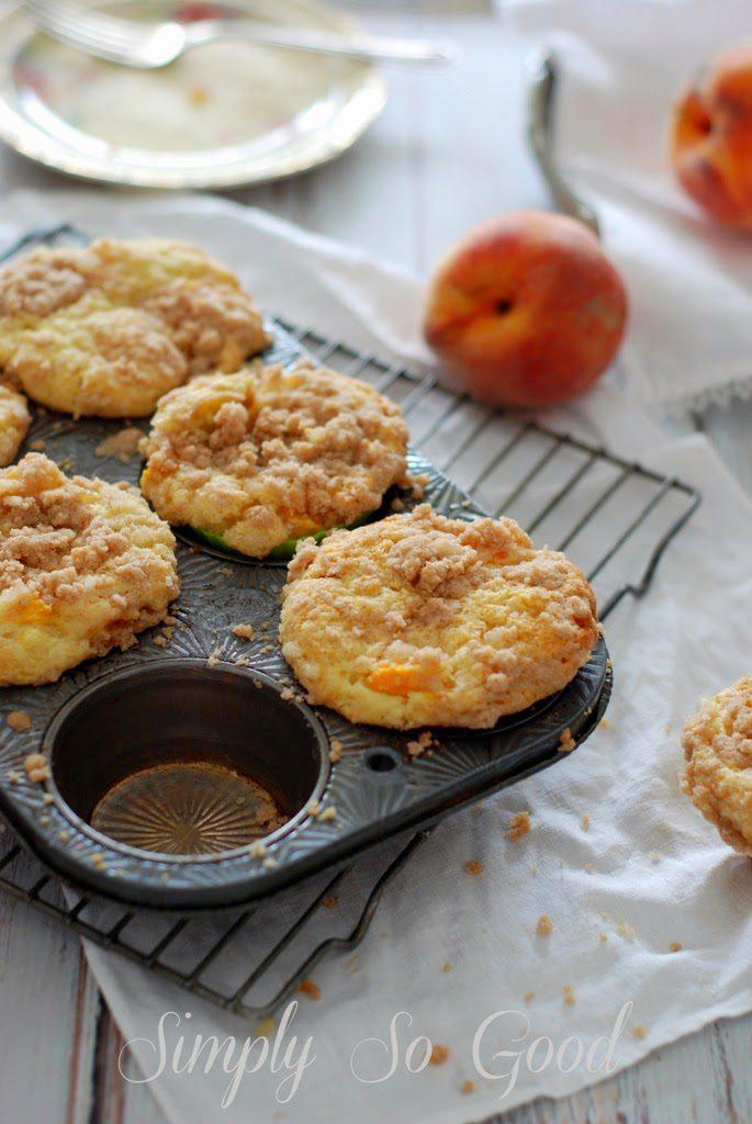 31 685x1024 - Peach Ginger Muffins