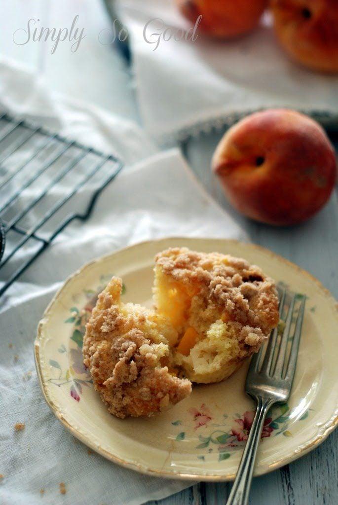 32 685x1024 - Peach Ginger Muffins