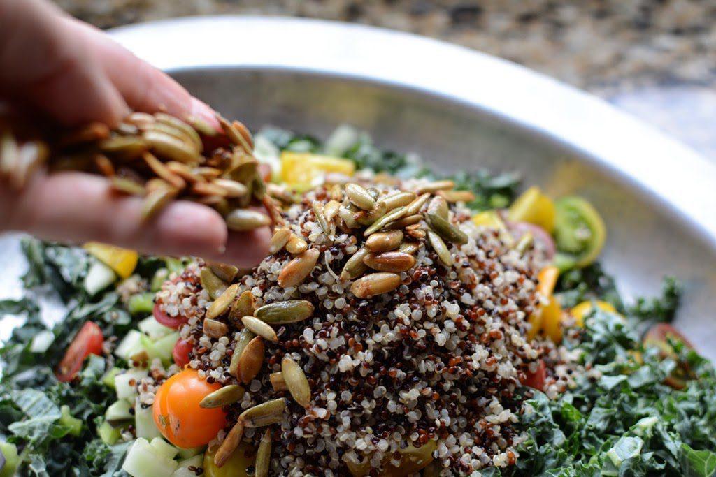 36 1024x683 - Farm Stand Kale and Quinoa Salad