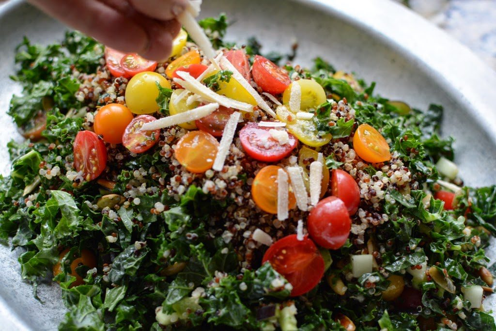 39 1024x683 - Farm Stand Kale and Quinoa Salad