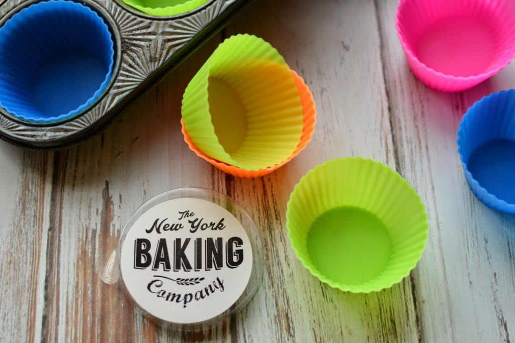 5 1 1024x683 - Peach Ginger Muffins and Silicone Baking Cups from New York Baking Company