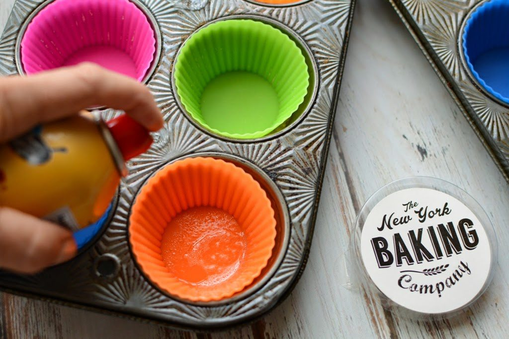 6 1 1024x683 - Peach Ginger Muffins and Silicone Baking Cups from New York Baking Company