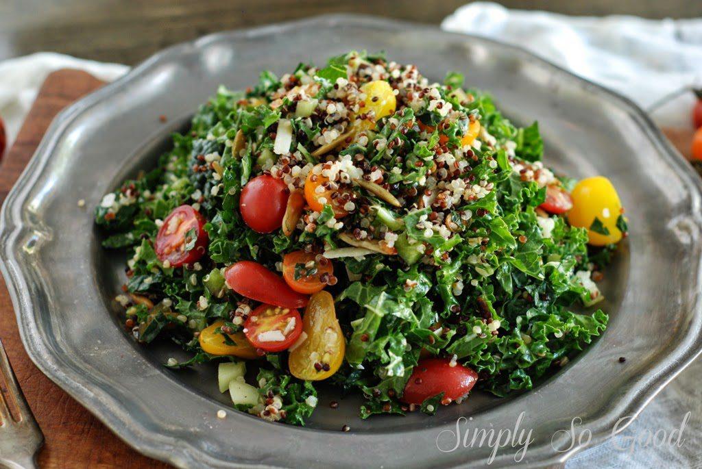 KaleandQuinoaSalad095 1024x685 - Farm Stand Kale and Quinoa Salad