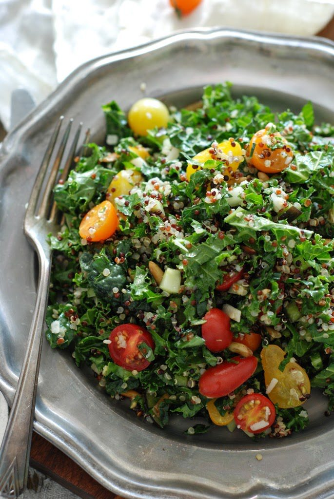 KaleandQuinoaSalad129 685x1024 - Farm Stand Kale and Quinoa Salad