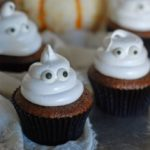 Ghostcupcakeswithboiledicing043 1 150x150 - Ghostly Cupcakes