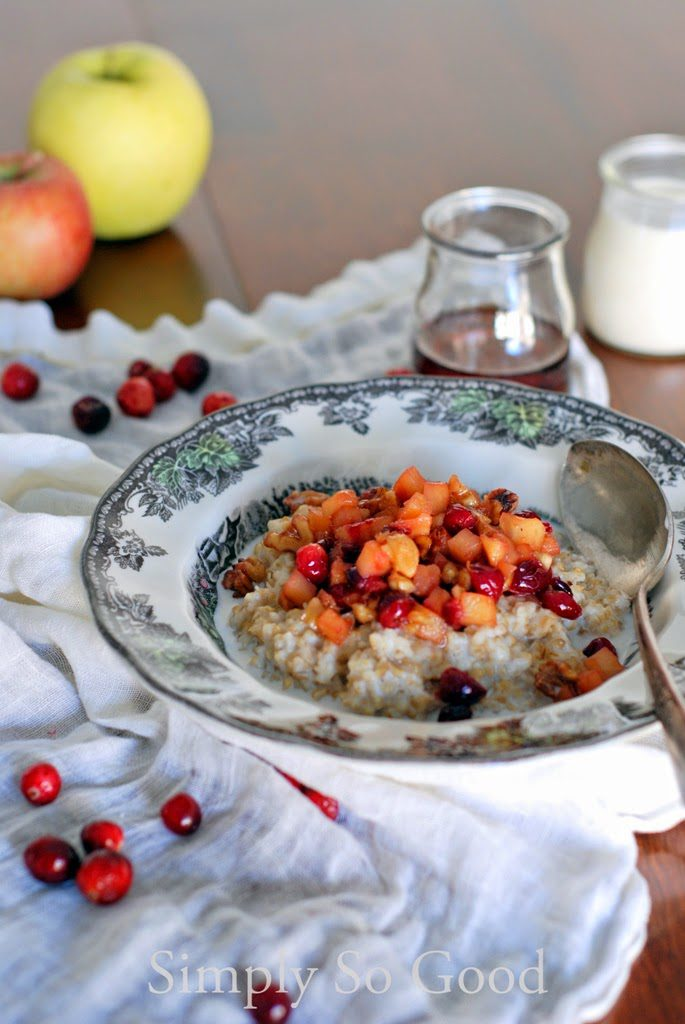 41 685x1024 - My Favorite Oatmeal After a Cold Morning Run with Apples and Cranberries