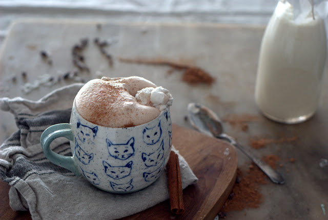 1 - Coconut- Almond Milk Spiced Hot Chocolate